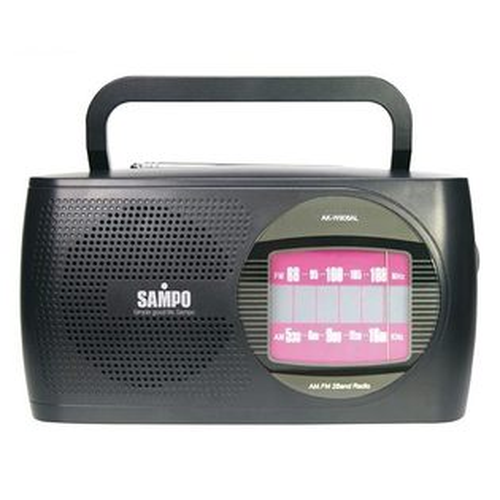 老人家的最愛~聲寶手提收音機 AK-W906AL/AKW906AL 《刷卡分期+免運費》