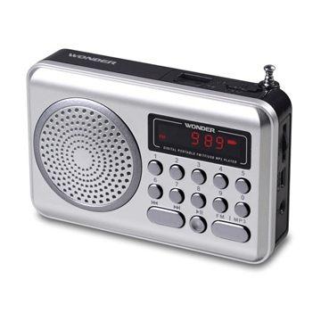 旺德USB/MP3/FM 隨身音響WS-P006 《刷卡分期+免運》
