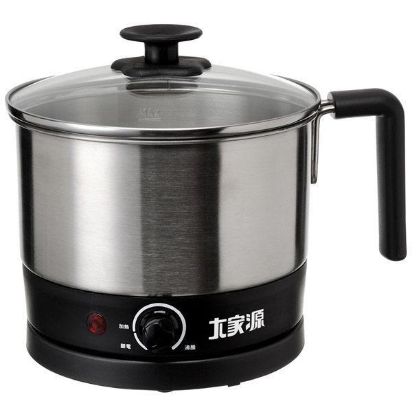 外宿族最佳飲食器具~大家源304不鏽鋼多功能美食鍋 TCY-2742
