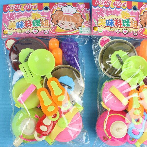 KIKI美味料理組 東匯T991 家家酒餐具廚房組/一袋入 促[#120]~生ST安全玩具