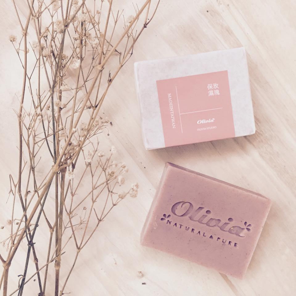 玫瑰保濕皂 - OLIVIASOAP