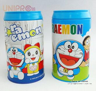 【UNIPRO】哆啦A夢 Doraemon 正版授權 可樂罐存錢筒 鐵罐撲滿 儲蓄 小叮噹 台灣製