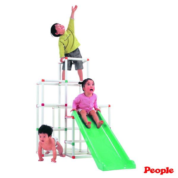 People - 4層攀爬架滑梯組 5