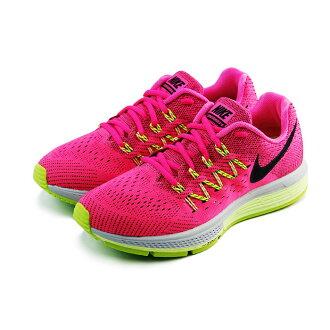 (女)NIKE WMNS NIKE AIR ZOOM VOMERO 10 慢跑鞋 亮桃紅/螢光黃-717441603