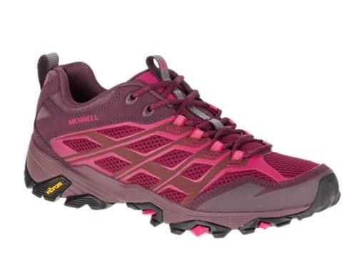 Merrell 運動休閒鞋 CAPRA BOLT WATERPROOF 粉紅 女 慢跑 健走 登山 4