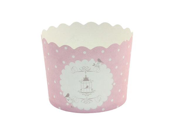 瑪芬杯、杯子蛋糕、烘烤紙杯 MF6256-14 法式鳥籠(50pcs/包)