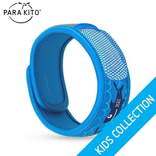 【買任3個送妖怪手錶驅蚊貼片】法國【Para''Kito】天然防蚊手環(酷炫鯊魚) 0