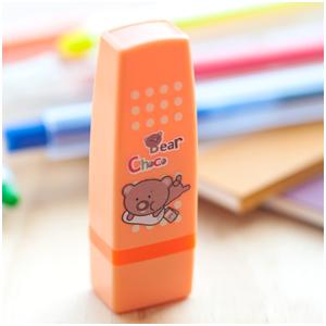 《巧克力熊》糖糖會計章 ( K23 粉橘 )
