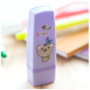 《巧克力熊》糖糖會計章 ( K25 粉紫 )