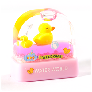 《 T16 黃鴨 》繽紛水世界