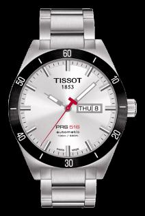 TISSOT天梭T0444302105100賽車PRS516經典技競腕錶/白面42mm