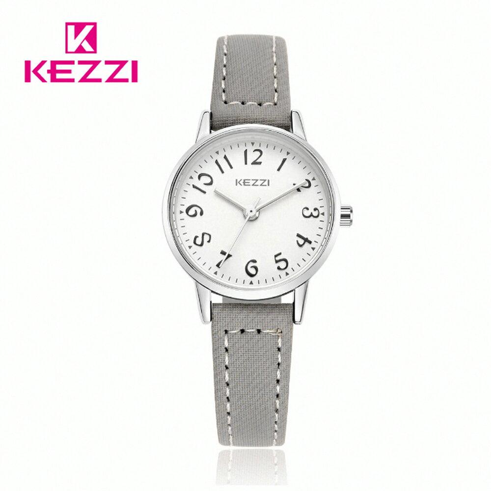 KEZZI 珂紫 K-1564 S 時尚學院風多色搭配款手錶 2