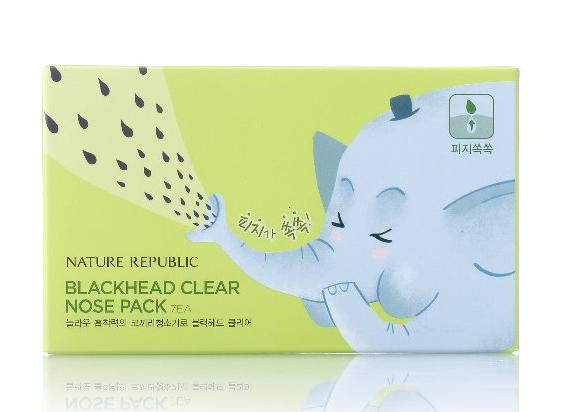 韓國 Nature Republic 大象鼻三步驟鼻貼  ☆真愛香水★