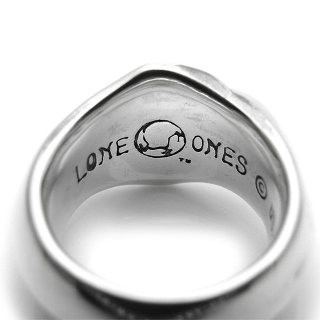 【海外訂購】【LONE ONES】極致光絨簡約純銀戒指 L (LKR004L) 3