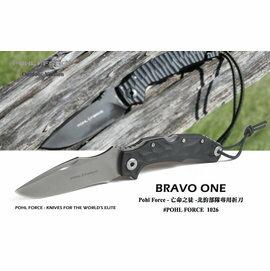Pohl Force 波爾武力 - Bravo One北約部隊專用刀 -亡命之徒 - #POHL FORCE 1026