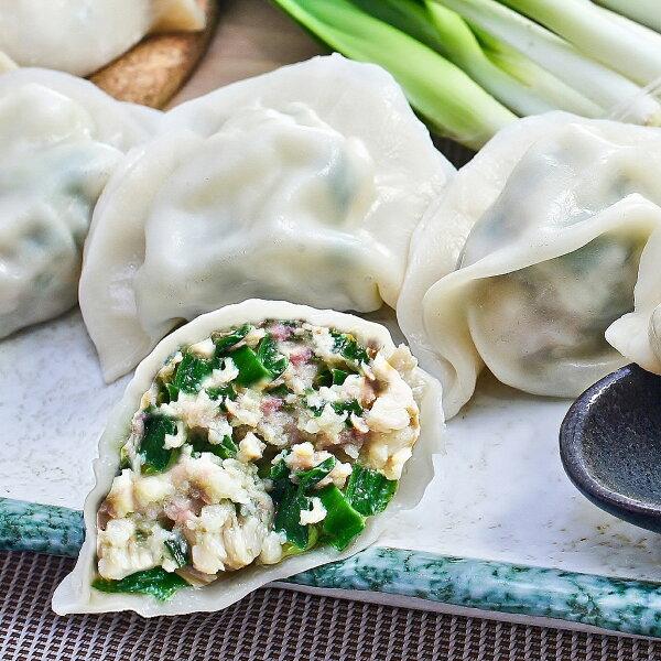 奇水餃-鮮脆韭菜水餃