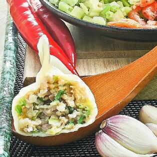 奇水餃-蝦米芹菜水餃