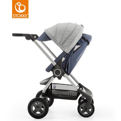 【贈Borny安全帶護套(花色隨機)】Stokke Scoot 2代嬰兒手推車(藍灰色) (11月底到貨) 0