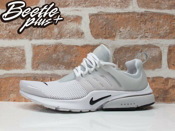 BEETLE NIKE AIR PRESTO BR QS DART SWOOSH 全白 白灰 白黑 透氣 網面 魚骨頭 跑鞋 789869-100 0