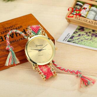 Promo Makanan dan Minuman Rakuten - geneva handmade watch - bohemian style. buy 3 get 1 free wooden watch