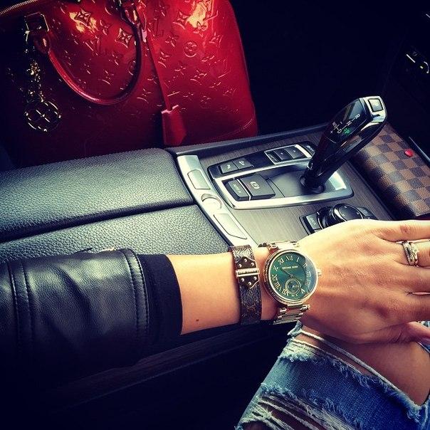 美國Outlet正品代購 MichaelKors MK 復古羅馬鑲鑽馬腦綠  陶瓷  三環 手錶 腕錶 MK6065 5