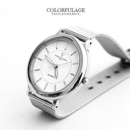 范倫鐵諾Valentino 極簡時刻 鋼索手錶對錶腕錶 原廠公司貨 柒彩年代【NE1249】單支價格 0