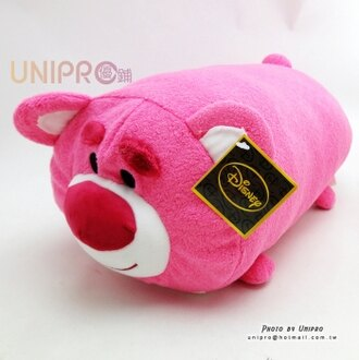 【UNIPRO】迪士尼 TSUM TSUM 疊疊樂 玩具總動員 熊抱哥 LOTSO圓柱 抱枕 靠枕 絨毛玩偶 禮物 正版