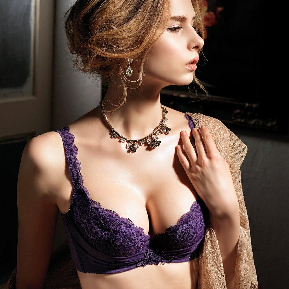 【Favori】魔力 美塑系列E罩杯內衣 (葡萄紫) 0