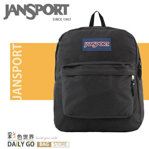 (小款包) JANSPORT 後背包 20公升-黑 JS-43911-008