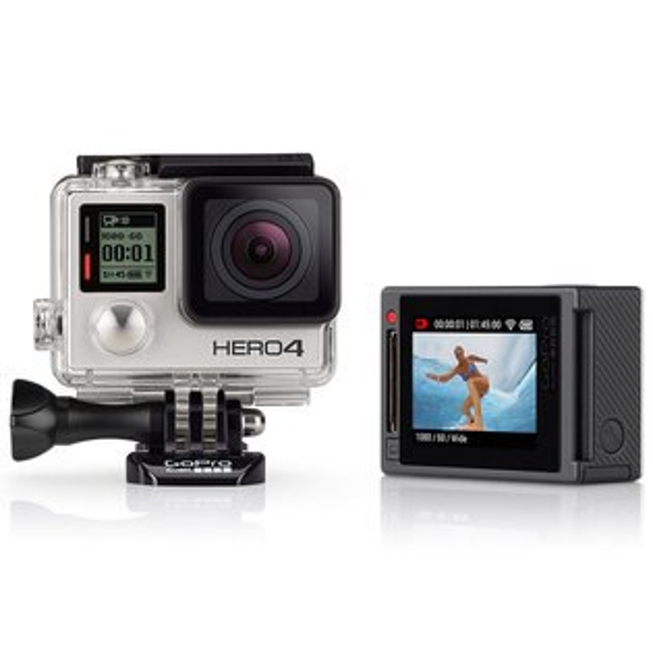 ◎相機專家◎ GoPro HERO4 專業觸控銀色版 CHDHY-401 總代理公司貨