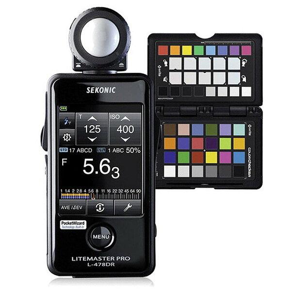◎相機專家◎ SEKONIC L-478DR KIT 觸控式測光表 送X-RITE 華曜公司貨