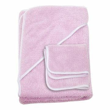 『121婦嬰用品館』狐狸村 超細纖維浴包巾-粉 1