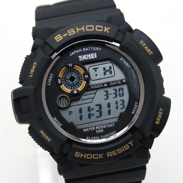 《好時光》SKMEI 前衛潮流個性大面徑 防水 炫彩  電子錶/男錶/運動錶