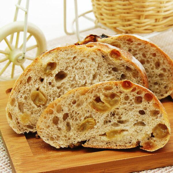 [薇庭手感烘培]毛蜂青緹子/麵包--320±10克重無油麵包(台灣毛峰綠茶、嚴選青提子、日本先鋒麵粉、德國裸麥粉、肉桂棒)