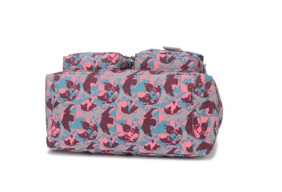 OUTLET代購【KIPLING】手提側背包 旅行袋 斜揹包 潑墨紅 2
