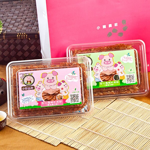 [小豬農莊]杏仁薄脆片肉紙(櫻花蝦芝麻口味) 3
