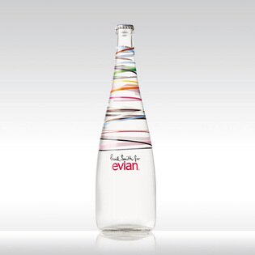 Evian X Paul Smith 2010 紀念水罐 (含紀念紙盒)