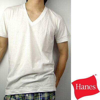 【Hanes】都會型男CITY系列V領T恤