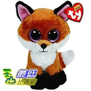 [美國直購] Ty Beanie Boos 6-Inch Slick Brown Fox Plush 玩具