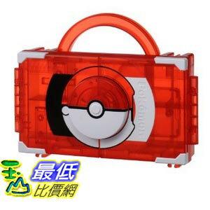 [東京直購] Takara Tomy B00KCLF50M 機台卡匣隨身收納盒-紅 Pokemon Torretta Tretta Trunk 神奇寶貝 精靈寶可夢