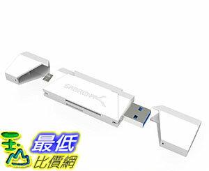 [美國直購] Sabrent 2-Slot 讀卡機 黑銀兩色 Micro USB OTG and USB 3.0 Flash Memory Card Reader for Windows, Mac