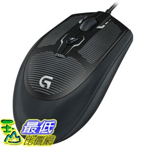 (網購整新品) Logitech G100s 滑鼠 Ambidextrous Optical Gaming Mouse 910-003533_TC31