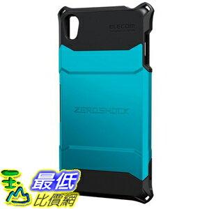 [現貨1個] ELECOM Xperia Z3 藍色 手機殼 保護殼 ZEROSHOCK PM-SOZ3ZEROBU _ A107