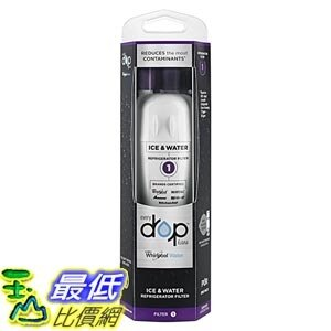 [美國直購] Whirlpool EDR1RXD1 Ice and Refrigerator Water Filter 1 (取代W10295370A) 冰箱 濾心 濾芯