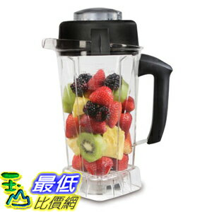 [美國直購] Vitamix 15848 Eastman Tritan Copolyester Soft-Grip 64-Ounce Container with Wet Blade and Lid 容杯 含刀片