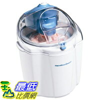 消暑廚房家電到[美國直購] Hamilton Beach 68320 冰淇淋機 1-1/2-Quart Capacity Ice Cream Maker, White