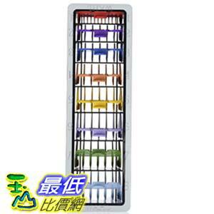 [美國直購] Wahl WHLCMB 理髮器替換頭 替換工具 8-Pack Color-Coded Cutting Guides with Organizer