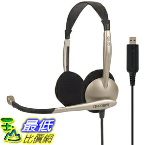[美國直購] Koss (CS100-USB) Communications USB Headset with Microphone 耳機