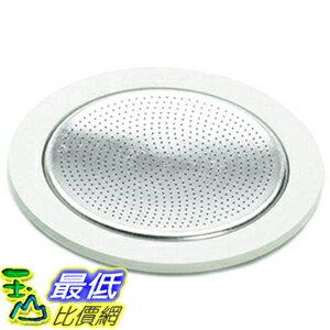 [美國直購] Bialetti 06963 3膠圈+不鏽鋼濾網 1杯 (Moka 適用) 3 gaskets and 1 filter for aluminum coffee pot