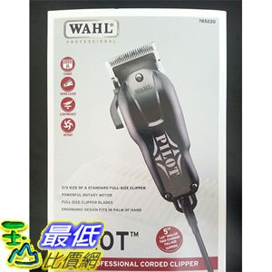 [美國直購] WAHL PILOT Professional Compact Hair Clipper 8483 + 8 Haircut Attachment Combs 理髮器